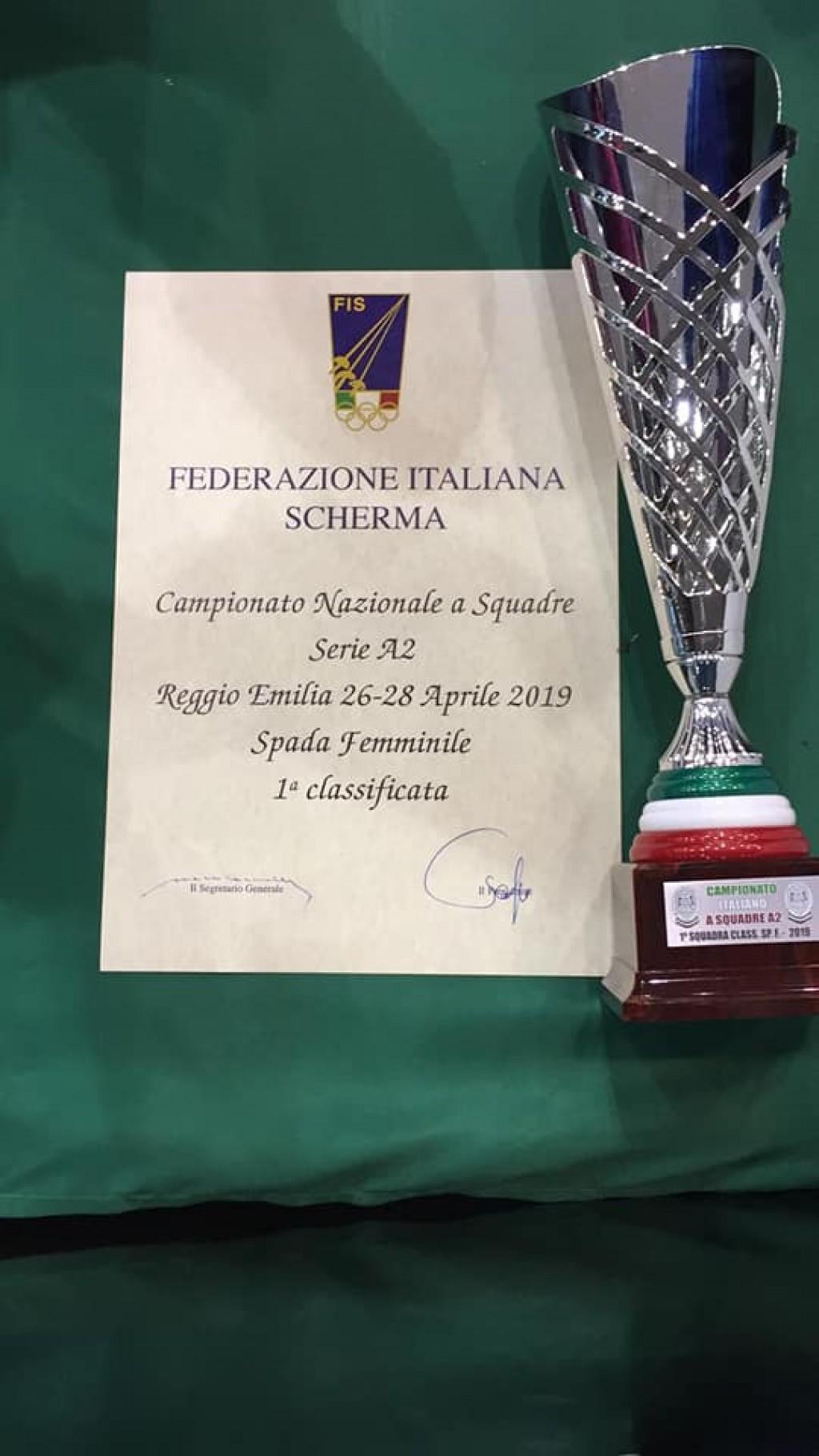 Campionesse italiane serie A2 - Pronovara
