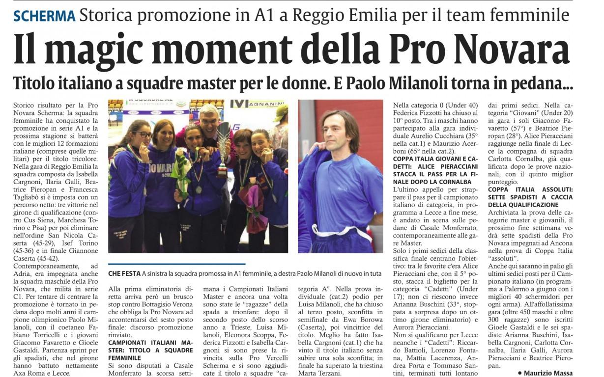Corriere di Novara - 09/05/2019 - Pronovara