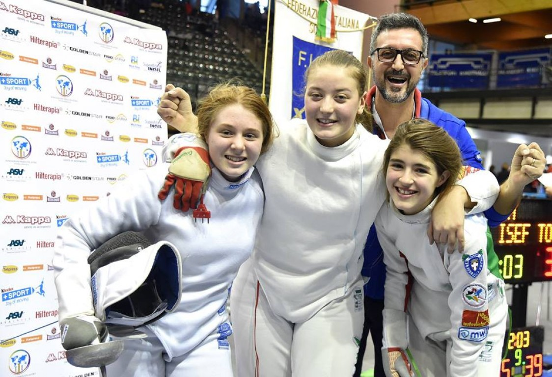 Campioni d'Italia Under 14 a Squadre -   Gran Prix Kinder+Sport  a Bolzano